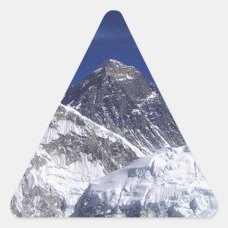Mount Everest Triangle Sticker