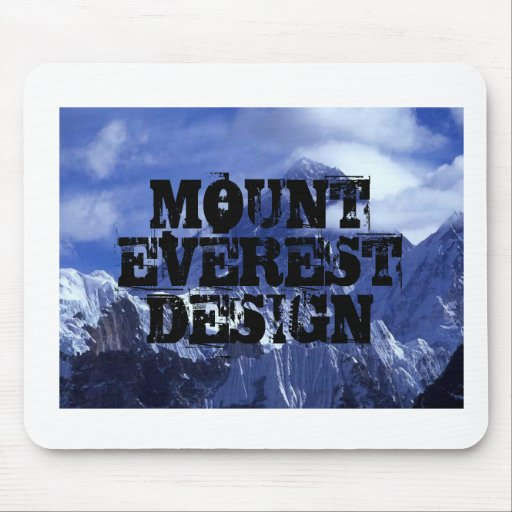 Mount Eversest Design mouse pad
