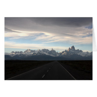 Mount Fitz Roy And Andes Range Card
