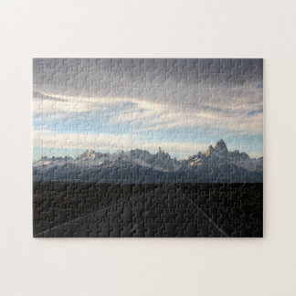 Mount Fitz Roy And Andes Range Jigsaw Puzzle
