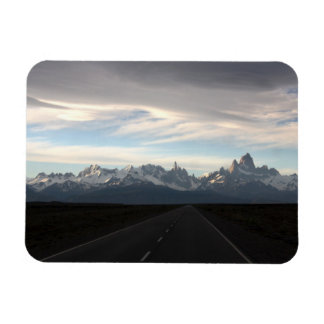 Mount Fitz Roy And Andes Range Magnet