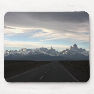 Mount Fitz Roy And Andes Range Mouse Pad