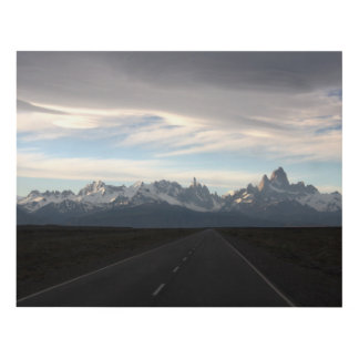 Mount Fitz Roy And Andes Range Panel Wall Art