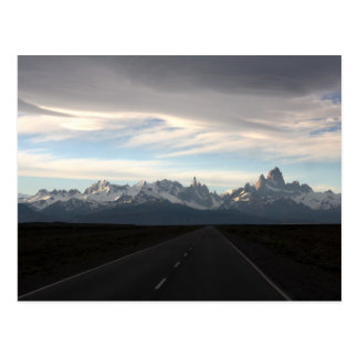 Mount Fitz Roy And Andes Range Postcard
