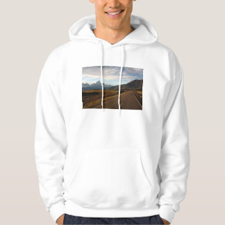 Mount Fitz Roy And Mount Cerro Torre Hooded Pullover