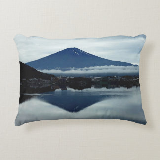 Mount Fugi Cotton or Polyester Accent Pillow