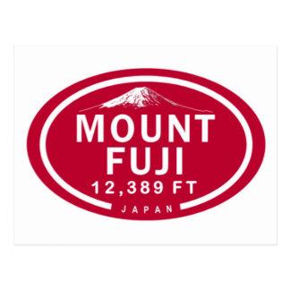 Mount Fuji 12,389 FT Japan Mountain Postcard