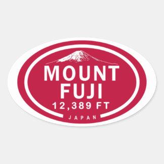 Mount Fuji 12,389 FT Japan Mountain Stickers