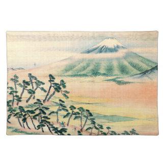 Mount Fuji 1890 Cloth Placemat