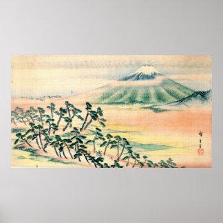 Mount Fuji 1890 Print