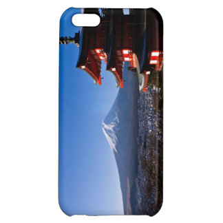 Mount Fuji and red pagoda iPhone 5C Cover