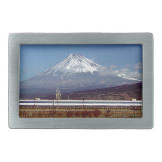 Mount Fuji Rectangular Belt Buckles