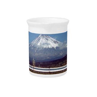 Mount Fuji Beverage Pitcher