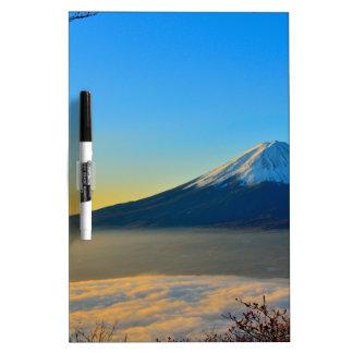 Mount Fuji Dry Erase Board