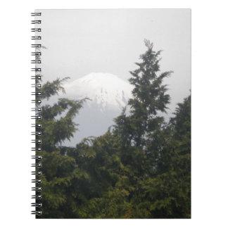 Mount Fuji from Hokane Journals