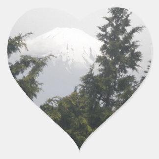 Mount Fuji from Hokane Stickers