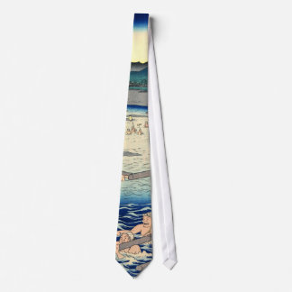 Mount Fuji from Oi River 1858 Tie