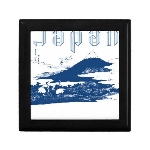 Mount Fuji Japan Jewelry Box
