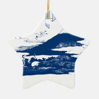 Mount Fuji Japan Ornament