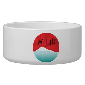 Mount Fuji Pet Bowl