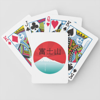 Mount Fuji Playing Cards Bicycle Playing Cards