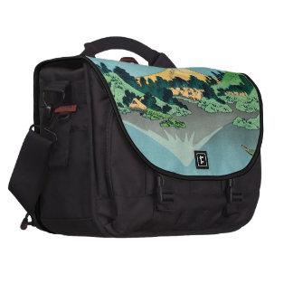 Mount Fuji reflects Laptop Bag