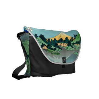 Mount Fuji reflects Courier Bag