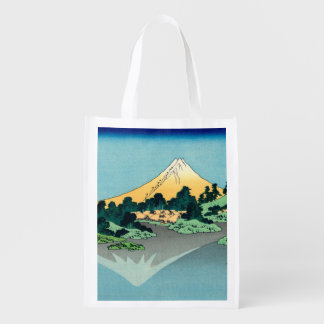 Mount Fuji reflects Market Totes