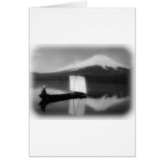 Mount Fuji San Card