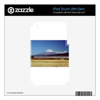 Mount Fuji iPod Touch 4G Skin