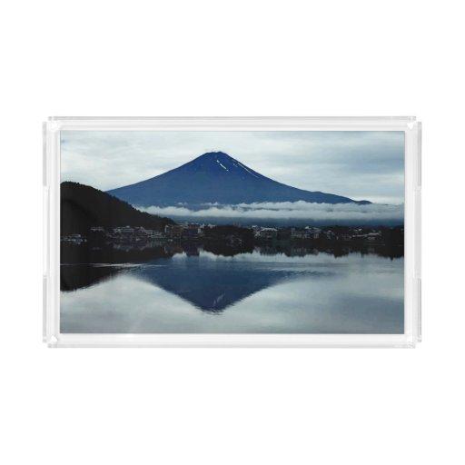 Mount Fuji Small Vanity Tray Zazzle