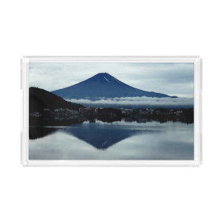 Mount Fuji Small Vanity Tray Rectangle Serving Trays