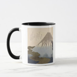 Mount Fuji Under the Snow Mug