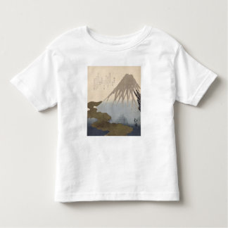 Mount Fuji Under the Snow Toddler T-shirt