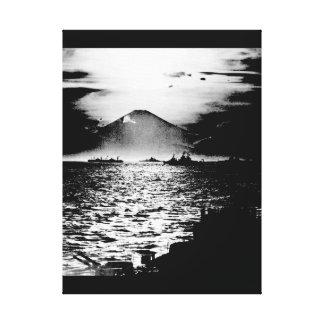 Mount Fujiyama, Japan as seen_War Image Canvas Print