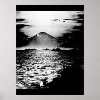 Mount Fujiyama, Japan as seen_War Image Poster