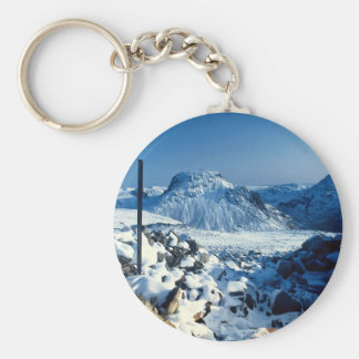 Mount Gable from Kirkfell, Lake District, England Keychain