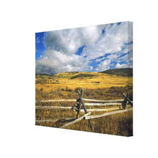 Mount Haggin NWR near Anaconda Montana Canvas Print