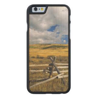 Mount Haggin NWR near Anaconda Montana Carved® Maple iPhone 6 Case