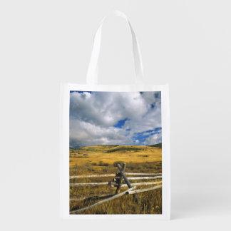 Mount Haggin NWR near Anaconda Montana Grocery Bags