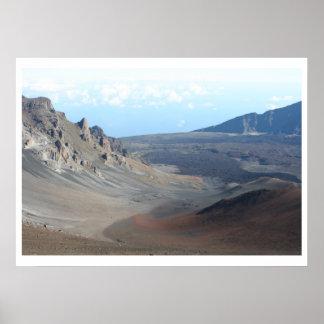 Mount Haleakala, Maui Poster