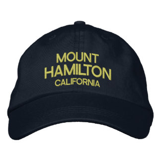 Mount Hamilton California Baseball Hat