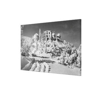 Mount Hamilton, California Lick Observatory Canvas Print