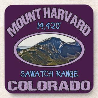 Mount Harvard, Colorado Drink Coaster