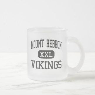 Mount Hebron - Vikings - High - Ellicott City 10 Oz Frosted Glass Coffee Mug