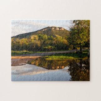 Mount Helena Reflection Jigsaw Puzzle