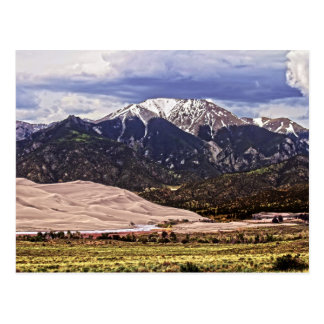 Mount Herard and Great Sand Dunes Postcard