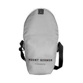 Mount Hermon Israel Messenger Bag