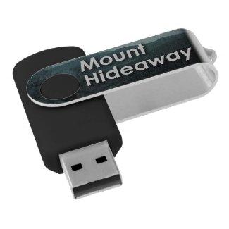 Mount Hideaway USB Flash Drive