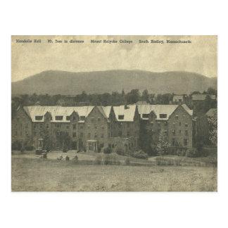 Mount Holyoke College Circa 1909 Vintage Postcard